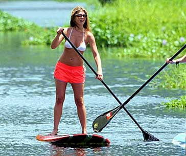 Celebrities Stand Up Paddling Sup Celebrity