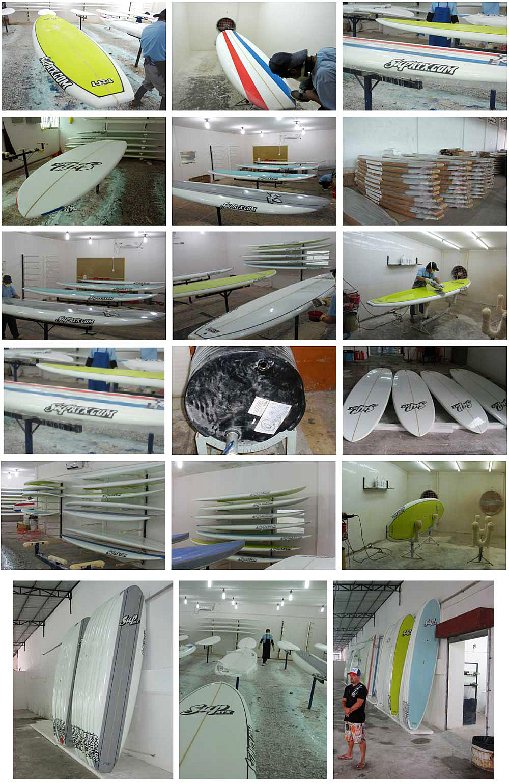 Stand Up Paddle Board Factory