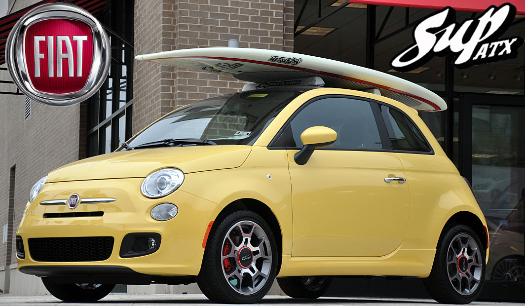 SUP ATX And FIAT Promotion Buy A FIAT Get A SUP ATX Board Paddle - Fiat promotion